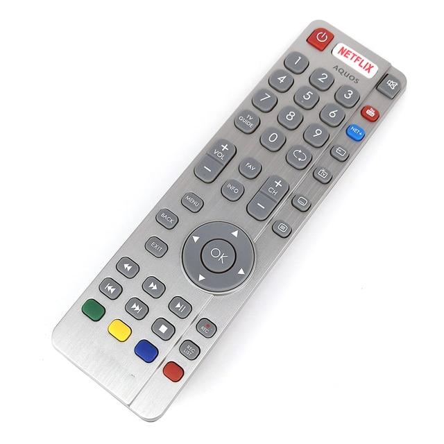 New Original DH1903130519 Remote Control For Aquos SHARP TV Remote NETFLIX Fernbedienung 2