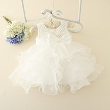 Baby Dress Christening Gown Lace Flower Girls Wedding Dress