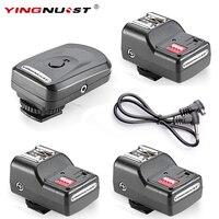 YINGNUOST 16 Kanal Kablosuz Uzaktan Radyo Flaş Tetik + Üç PC Alıcıları Canon/Nikon/Yongnuo Kamera Evrensel sıcak Ayakkabı