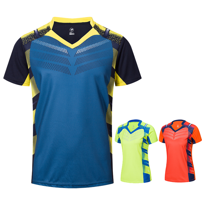 New Tennis Shirts Men /Women, Badminton Shirt , Table Tennis T Shirts, Table Tennis Jerseys ,Sports Running Shirts A112