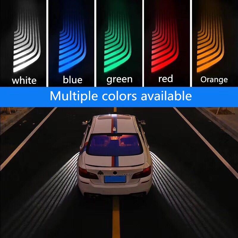 Us 43 35 49 Off Qirun Led Greeting Atmosphere Decorative Daylights Brake Fog Lamp Reverse Headlight Turn Signal For Audi A1 A3 Quattro A4 A5 In Car