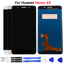 For Huawei Honor 4X LCD display 5.5 inch Touch Screen Digitizer Assembly for HUAWEI HONOR 4X LCD Replacement Che2-L11 CHE2 UL00