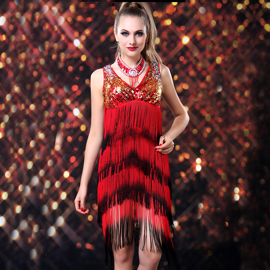 Popular Red Tango Dress-Buy Cheap Red Tango Dress lots from China ...