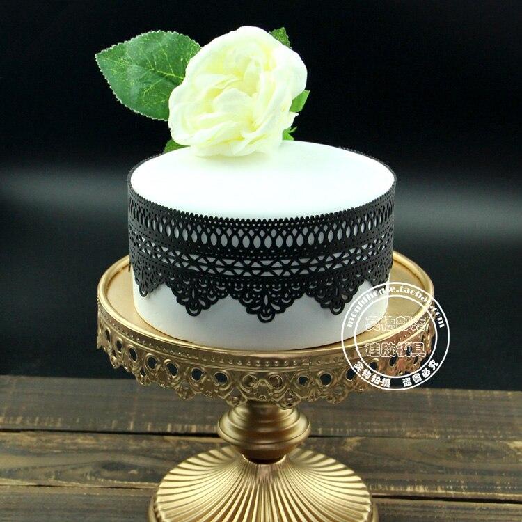 50 off Large cake tools cake lace sugar lace silica gel mould sugar print pad
