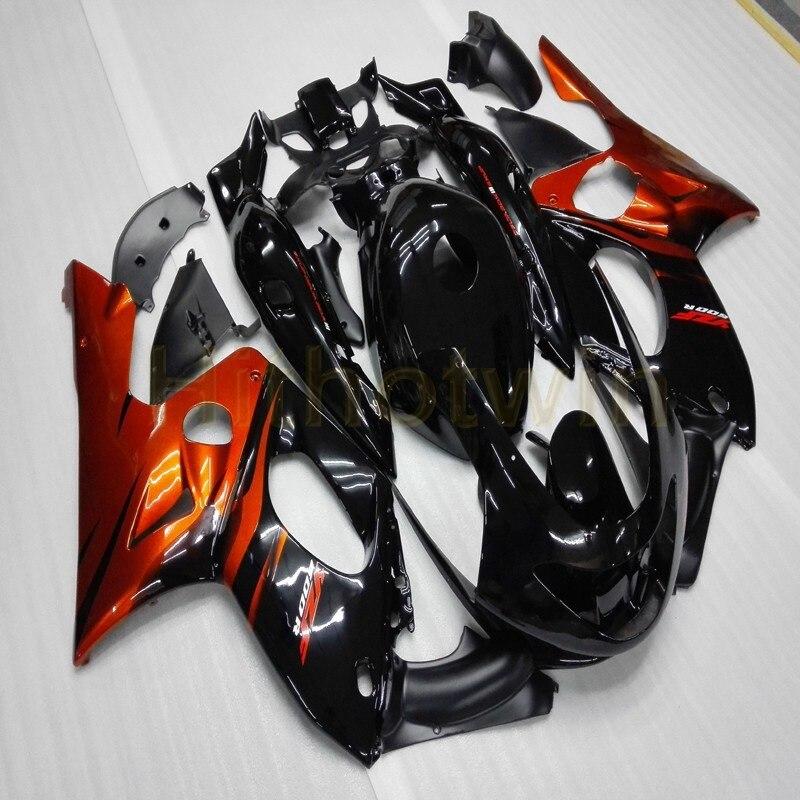 Custom orange black fairing for Yamaha YZF600R 1997 1998 1999 2000 2001 2002 2003 2004 2005 Thundercat YZF-600R