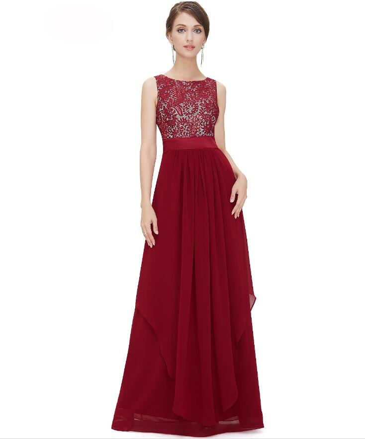 Fashionable Prom   Dress   2018 Vestido de noiva   evening     dresses   chiffon lace decoratio many color available formal party   dress