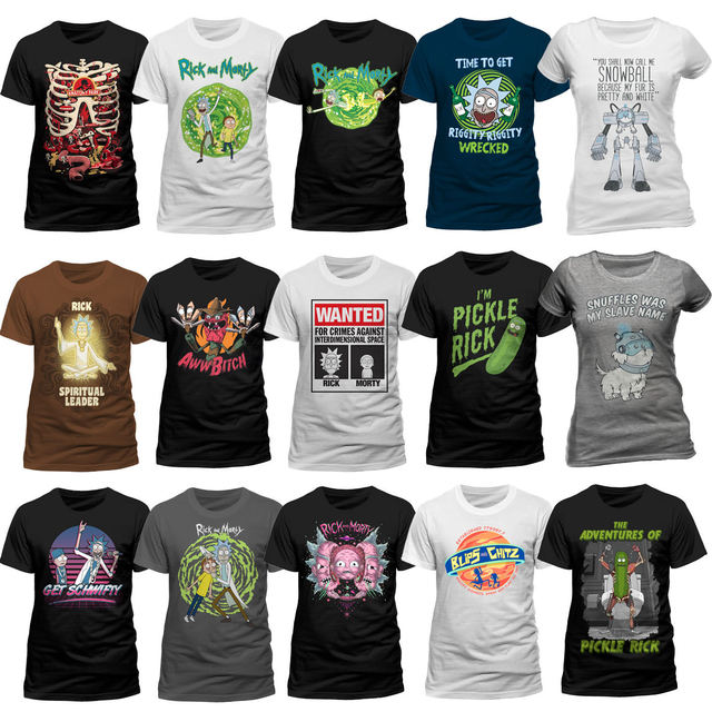 40d96fc78bb Rick And Morty T Shirt Pickle Rick Get Schwifty Spiral Portal Mens Tee Free  shipping Harajuku Tops Fashion Classic Unique-in T-Shirts from Men s  Clothing on ...