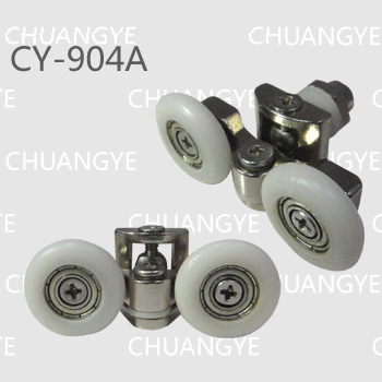 Shower room accessories metal double pulley