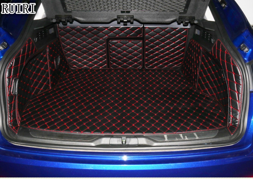 Best quality! Special trunk mats for Maserati Levante 2018 2016 durable cargo liner boot carpets for Levante 2017,Free shipping