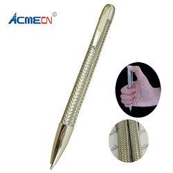 Original trança esferográfica caneta 38g metal pesado caneta de bola design exclusivo papelaria presentes fábrica fornecer caneta bola famosa marca caneta