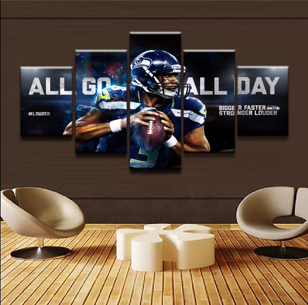 Canvas Picture Home Decor Wall Art Modular Posters 5