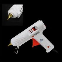 цена на 110W Hot Melt Glue Gun Adjustable High Temperature Glue Gun Graft Repair Tool Heat Gun AC110-240V For 11mm Glue Stick