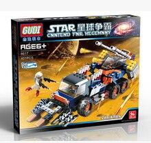 GUDI 8617 Star Wars Space War Assault tank Minifigure Building Block 401Pcs Bricks Toys Compatible with Legoe