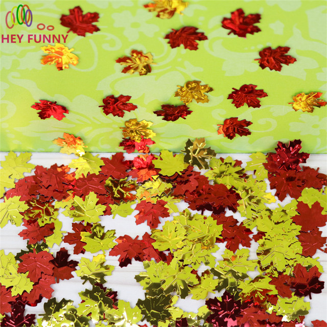 Hey fynny 15gbag canadian maple leaf table confetti scatters for hey fynny 15gbag canadian maple leaf table confetti scatters for wedding valentine party decoration junglespirit Choice Image