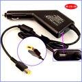 20 В 2.25A 45 Вт Ноутбук Автомобиля DC Зарядное Устройство Адаптер + USB (5 В 2A) для Lenovo/Thinkpad Helix 370133 Г N4B33UK 26962BU 26962CU