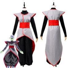 Dragon Ball Dragonball Super Goku Black Zamasu Merged Potara Fusion Cosplay Costume Outfit