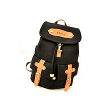 Hot Korea Vintage Canvas Backpack Girl Women Shoulder Satchel Bag Rucksack 4 Colors School Bags For Teenagers High Quality -47