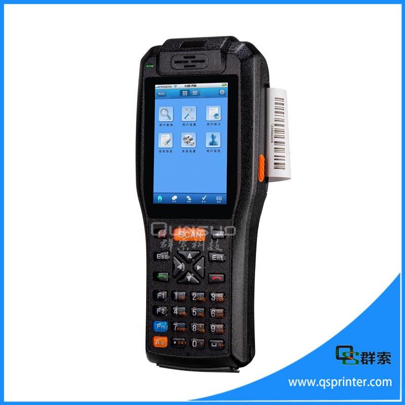 China Wifi3ggpsnfc Mini Printer Android Pda Handheld Bluetooth