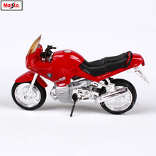 Maisto 1:18 7 styles BMW R1100RS Silvardo original authorized simulation alloy motorcycle model toy car gift collection