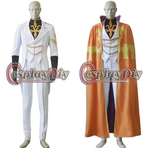 Free Shipping Custom made Anime Code Geass Knight of Ten Luciano Bradley  Cosplay Costume-in Anime Costumes from Novelty & Special Use on  Aliexpress.com ...