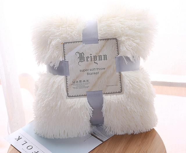 Fluffy Plush Fleece Blankets