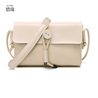 XIYUAN BRAND Female Small Bags 2017 Summer New Girls Sheep Leather Messenger Bags Lady Mini Chain