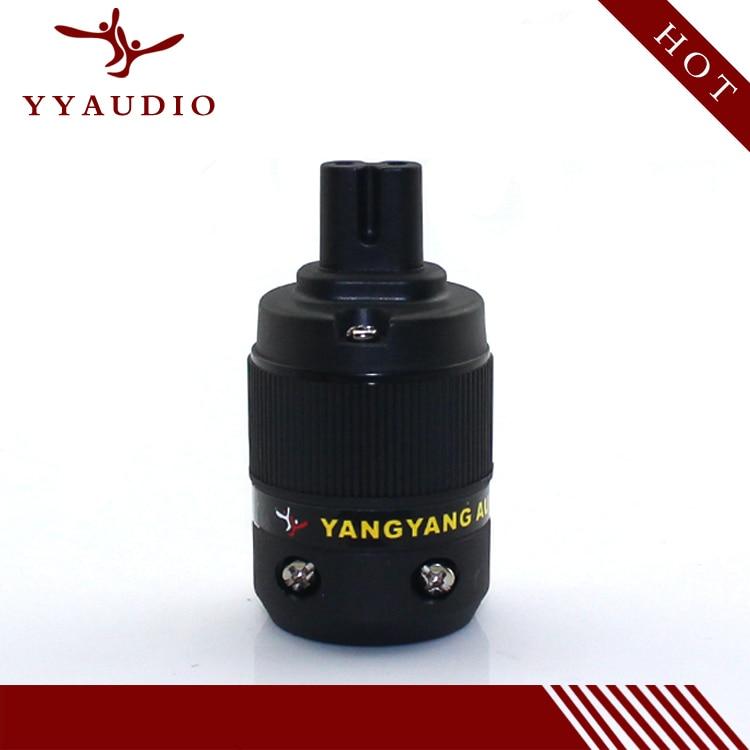 YYAUDIO YY-08G 24K Rhodium plated type 8 IEC power connector