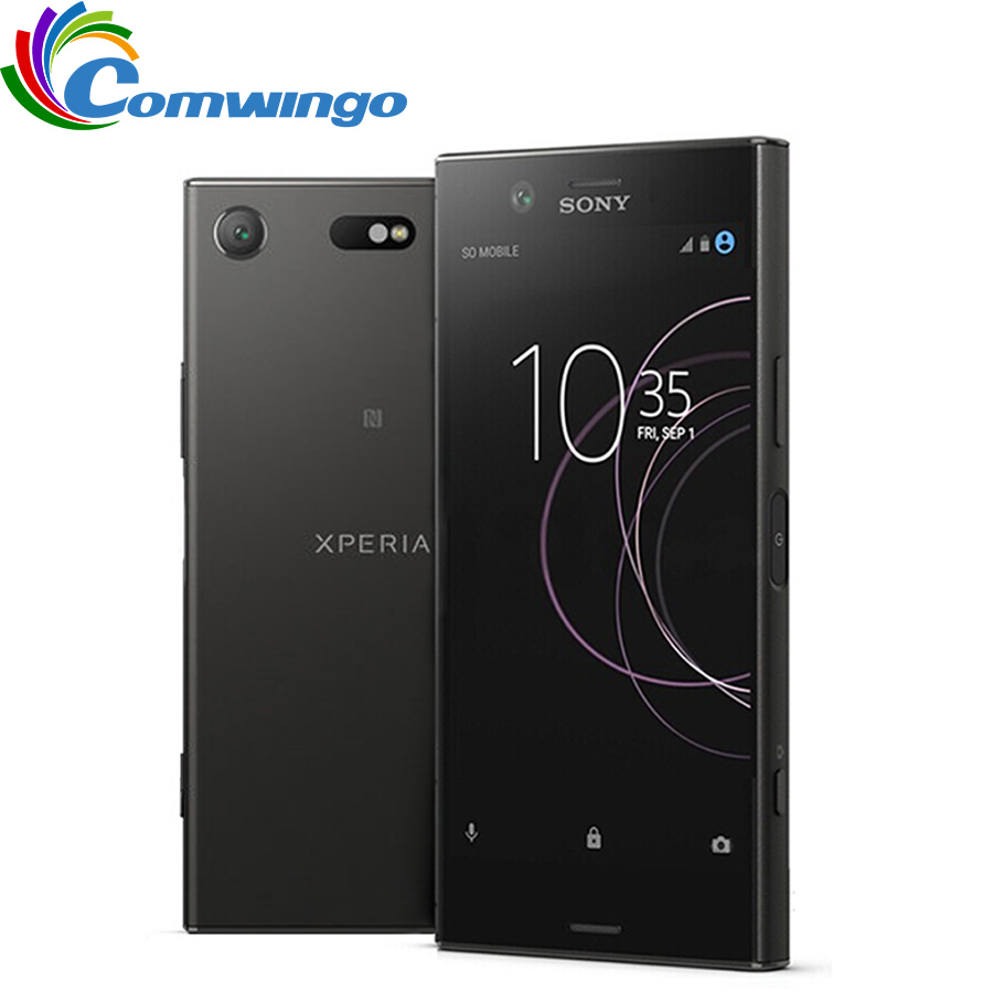 Original Sony Xperia XZ1 Compact G8441 RAM 4GB ROM 32GB 4G LTE Android Octa Core 4.6 19MP WIFI GPS 2700mAh Phone