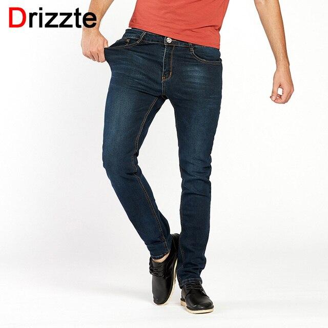 Auf Abstand Los Angeles billigsten Verkauf Drizzte herren Jeans Hoher Stretch Mode Blau Denim Marke Männer Slim Fit  Jeans Größe 30 32 34 35 36 38 40 42 Hosen Jean in Drizzte herren Jeans  Hoher ...