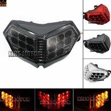 Motorcycler Accesorios Luz de cola LED integrada señal de giro humo intermitente para Ducati 848 1098 1198