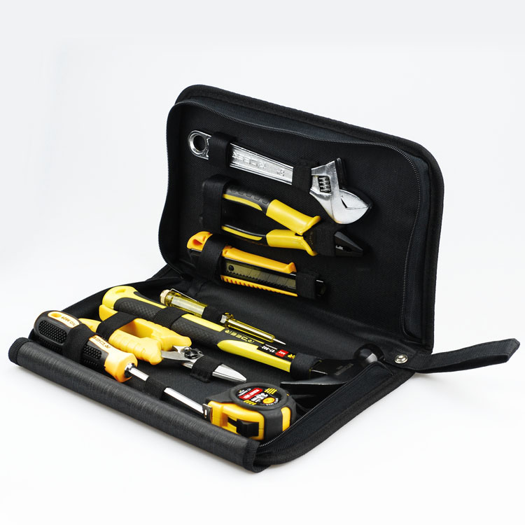 RTA-8 8 sets of basic maintenance tools combination set screwdriver clamp hammer knife wrench high quality screwdriver combination set unique telescopic function