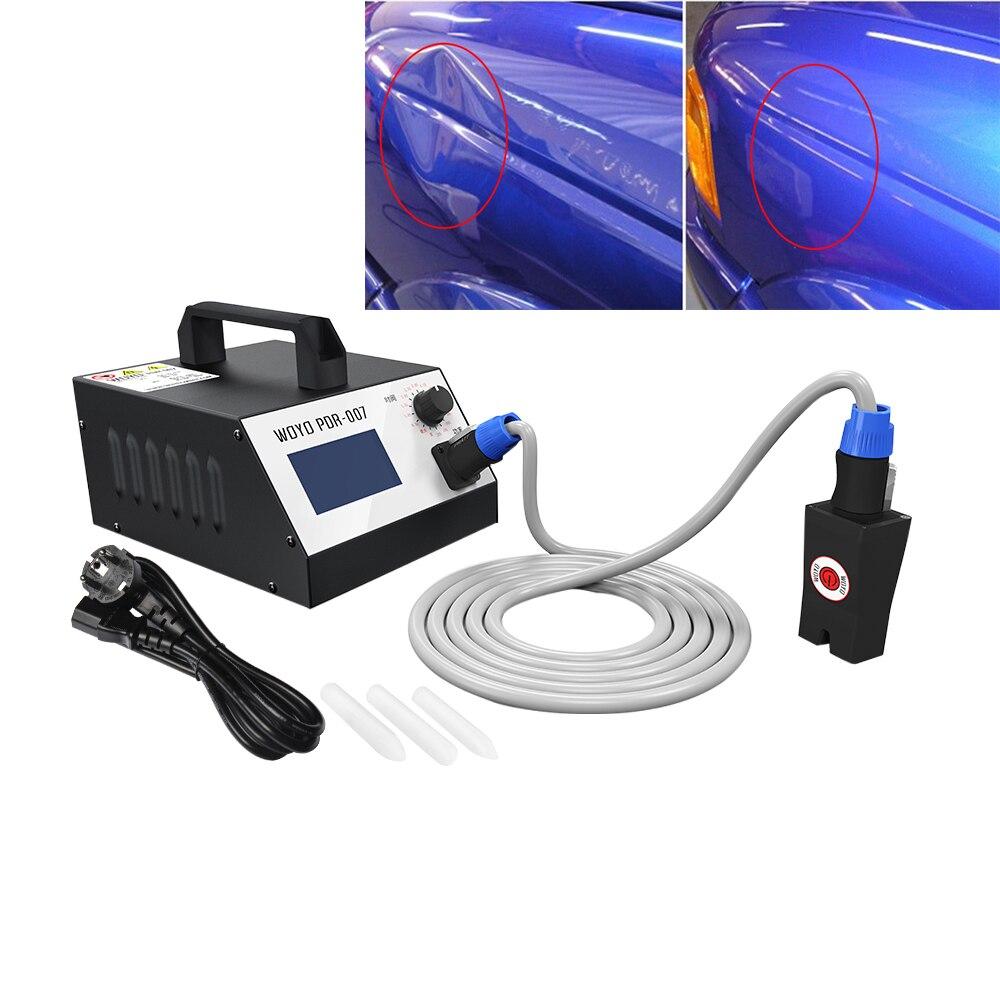 Prix pour WOYO PDR-007 Auto Kits de Réparation De Carrosserie Débosselage Kits Feuille Métal Réparation Outils 110 V 240 V hotbox chaude boîte pdr