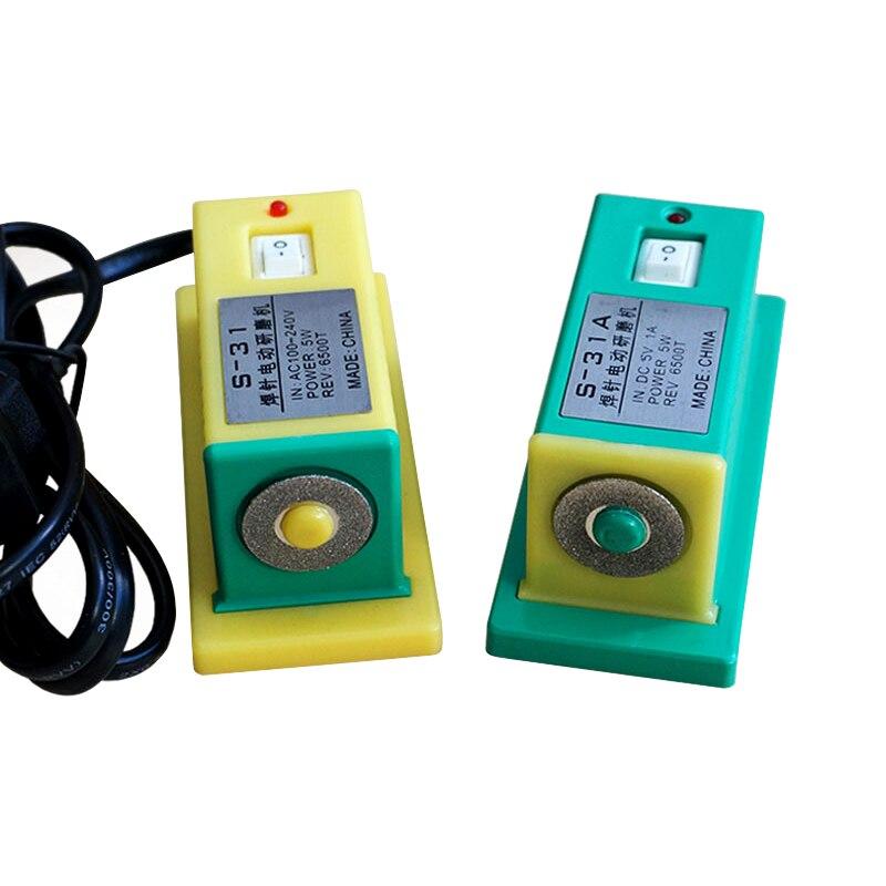 S-31 S-31A Mini elektrische schleif maschine batterie spot schweißer nadel schleifen schweißen nadel schweißen tipps dressing mühle tools