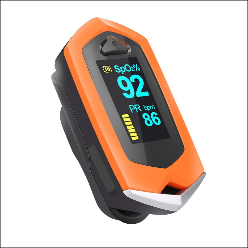 SpO2 PR OLED Recarregável Pulso OximeterOximeters