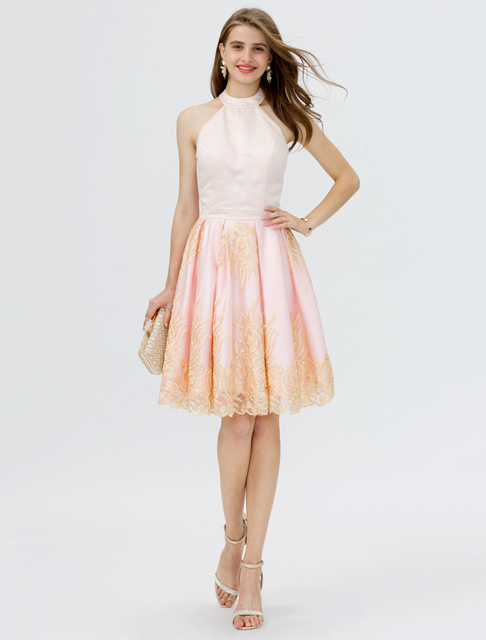 Ts Couture Princess Off The Shoulder Short Mini Lace Satin Tail Party Dress With