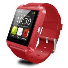 Neue ankunft U8 U Uhr Bluetooth Smartwatch Armbanduhr Smart Band Für Android Universal Begleiter Kleinkasten freies verschiffen