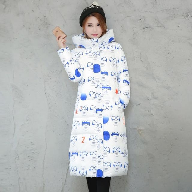 Wadded Mulheres Jaqueta de Algodão Novo Casaco de Inverno Moda Feminina Quente Casaco Parkas Com Capuz Para Baixo das Mulheres Jaqueta Casual Plus Size 3XL