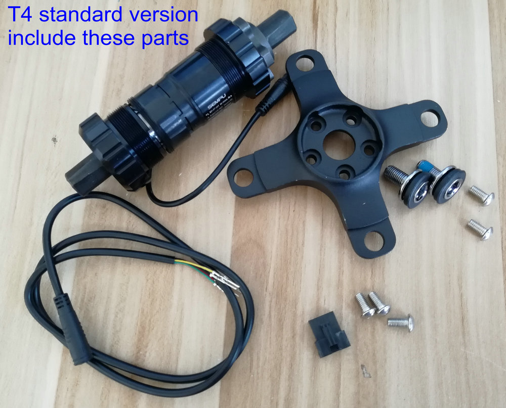 dual side torque sensor transducer buttom bracket parts for electric scooter e-bike motor assisted bicycle intelligent bike suunto bike sensor