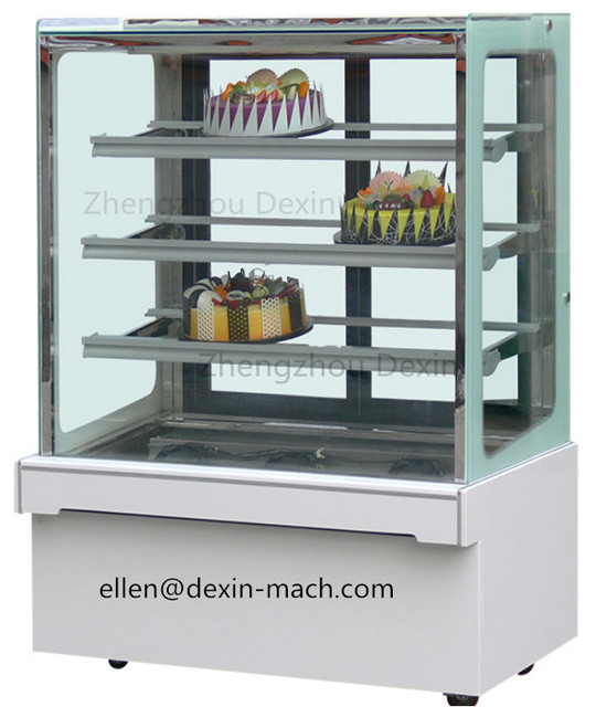 Cheap FOB Price Display Cake Pastry Cabinet Fridge/Pastry Showcase Display  Freezer And Refrigerator With