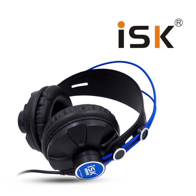 ISK HP680 Pro Monitor Studio DJ Headphones Dynamic 1200mW Powerful Over Ear Earphone Noise Cancelling HiFi Headset auriculars
