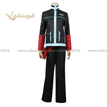 Kisstyle Fashion World Trigger Yuma Kuga Uniform COS Clothing Cosplay Costume,Customized Accepted