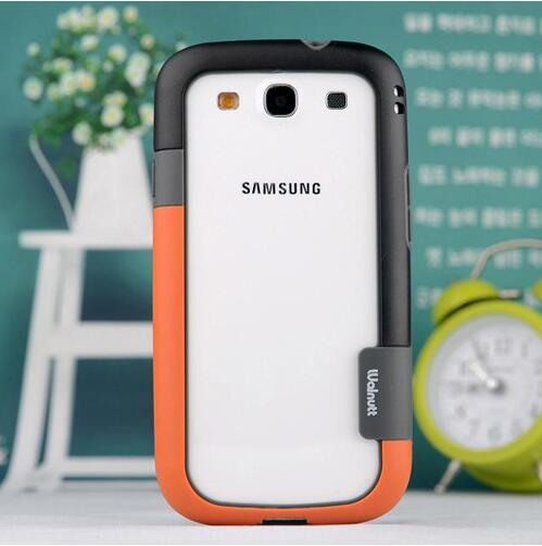 for Samsung S3 S4 S5 S6 edge Summer Bumper Case Contrast Color Soft Silicon tpu shockproof cover for Galaxy Note 3 4 note3 note4