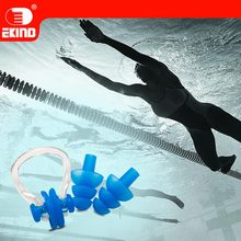 Новые водостойкие Заглушки для ушей, зажим для носа аксессуары для лета osean Пляж Бассейн для дайвинга для детей