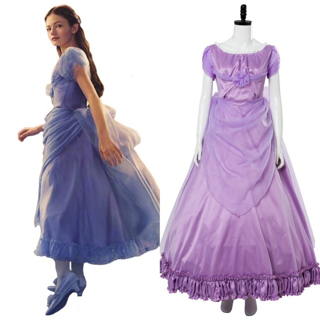 2018 The Nutcracker and the Four Realms Cosplay Girls Clara Dress Cosplay  Costume Halloween Carnival Cosplay Costumes d261304a6