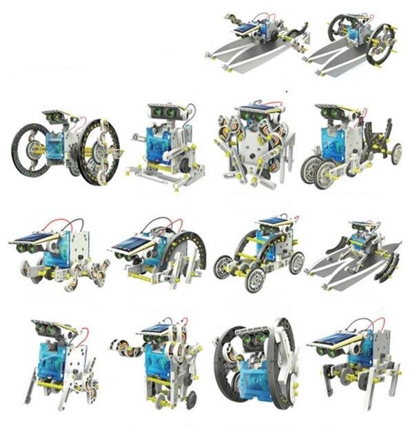 13 In 1 Educational Solar Robot Kit