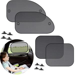 Image 1 - Car sunshade 2PCS car window sun shade auto sun visor rear window sun block sunscreen solar UV windshield sunshade