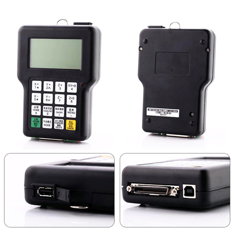 DSP 0501 контроллер 3 оси английская версия беспроводная ручка контроллер ЧПУ маршрутизатор пульт дистанционного управления - 4