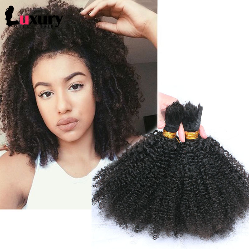 3pcs/Lot Bulk Hair For Braiding Human Braiding Hair Bulk ...