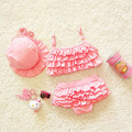 kids swimwear girls two pieces child swimsuit with ruffle mermaid tails for children bikini baby girl little girls swim suits
