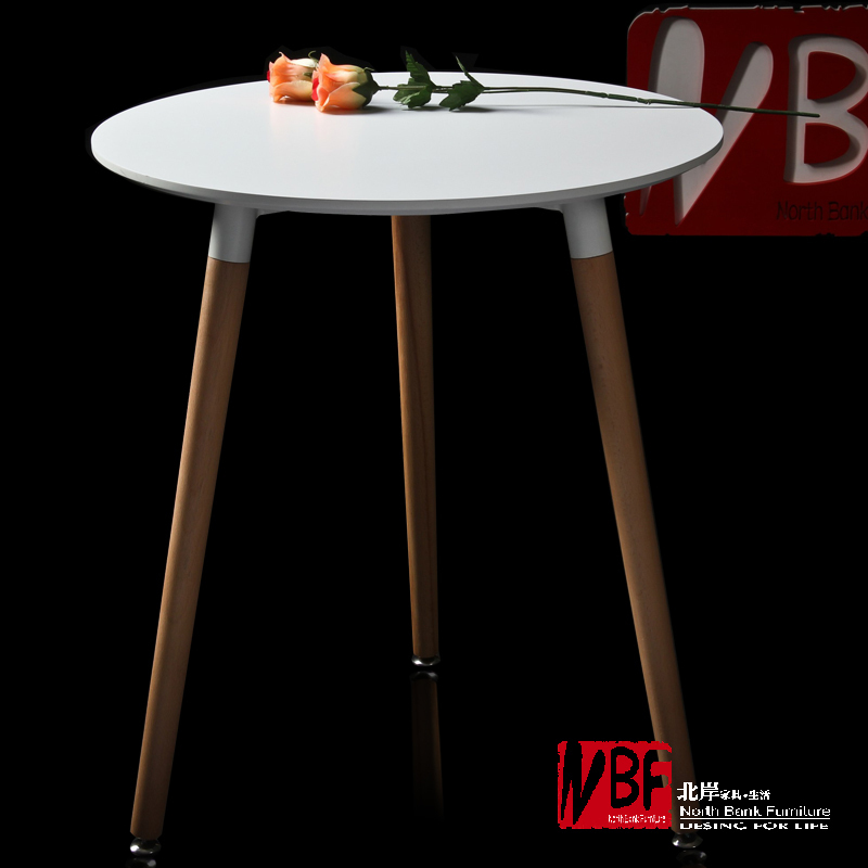 North Shore IKEA Furniture Round Dining Table Modern Wood Personalized  Leisure Table Legs Can Be Adjusted Parlor Tables T408 In Nail Tables From  Furniture ...